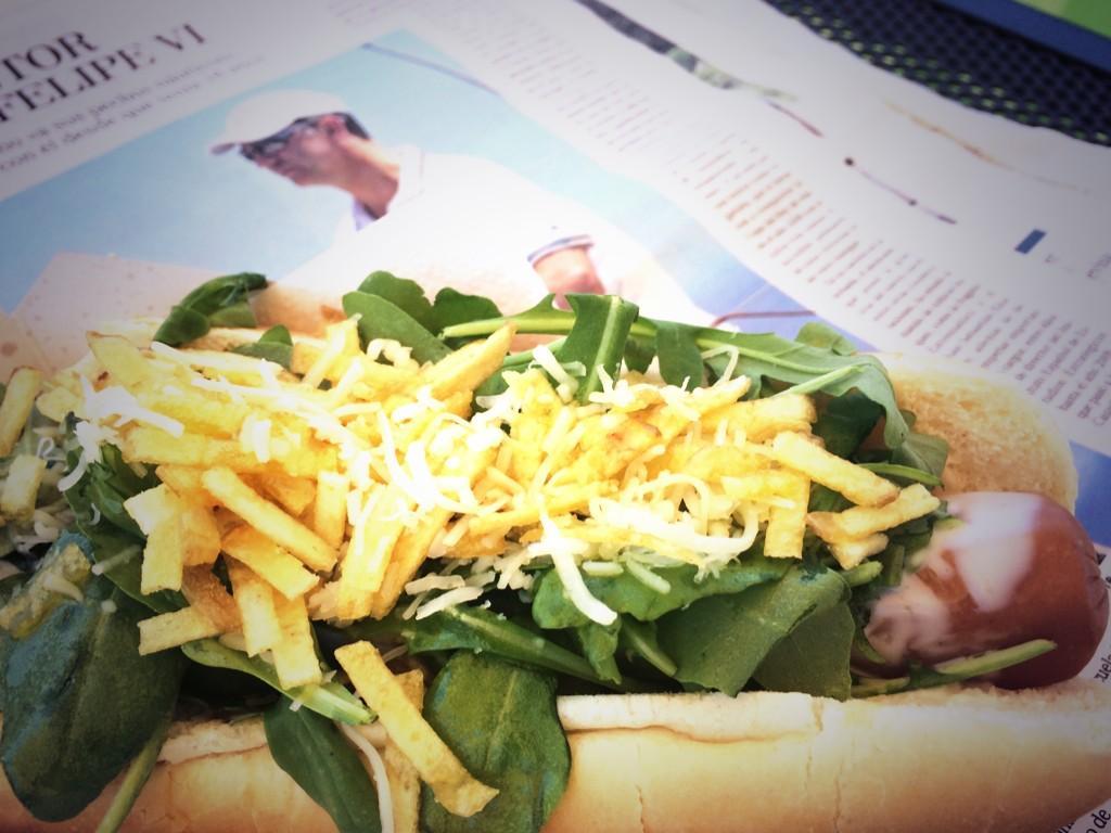 hotdog Felipe VI